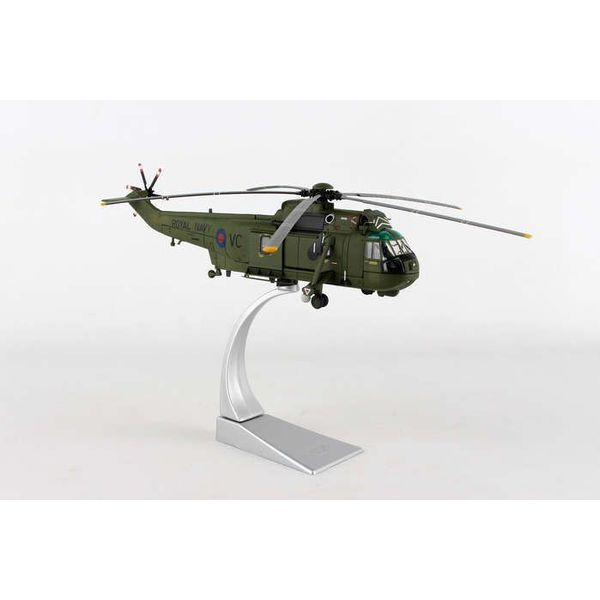 Corgi Sea King HC4 846 NAS Squadron FAA Falklands ZA890/VC 1981 1:72 with stand