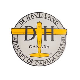 Red Canoe Brands Dehavilland Aircraft Of Canada Logo Beaver 3.5 Inch Sticker
