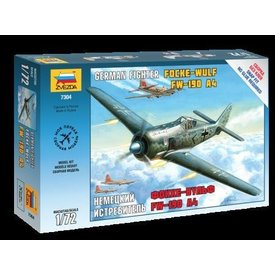 Zvesda FW190A4 LUFTWAFFE NEW TOOLING 1:72 Scale Kit