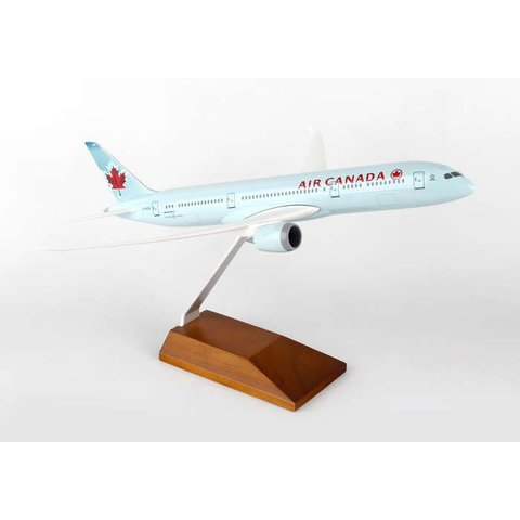 B787-9 Air Canada 2004 Livery 1:200 Wood Stand (no Gear)**o/p**