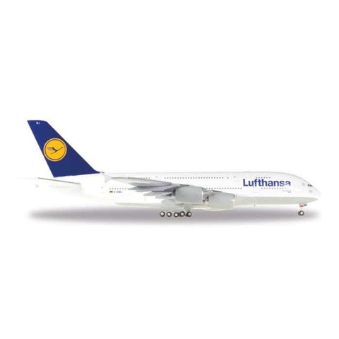 HERPA A380-800 LUFTHANSA D-AIMJ Brussels 1:200+NSI+