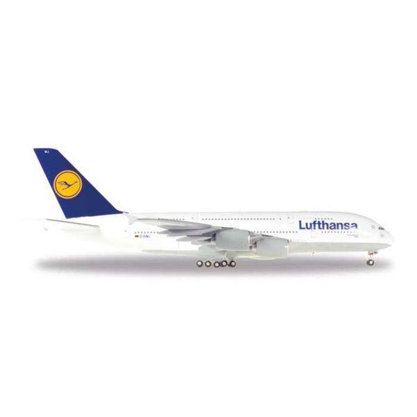 Herpa HERPA A380-800 LUFTHANSA D-AIMJ Brussels 1:200+NSI+