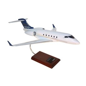 Challenger 300 Bombardier House Livery Navy 1:35 with stand