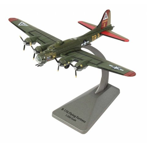 B17 Flying Fortress 323BS, 91BG Nine-O-Nine Smithsonian Srs 1:200 with stand