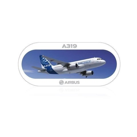 A319 Airbus Sticker