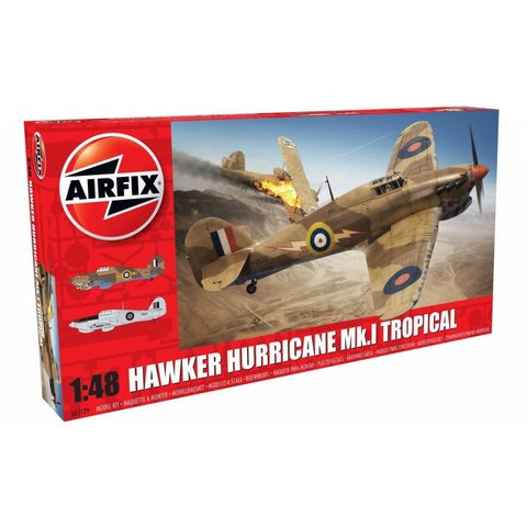 HURRICANE MKI TROPIC 1:48 Kit