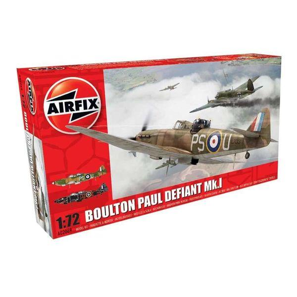 Airfix BOULTON PAUL DEFIANT MK.1 1:72 SCALE KIT