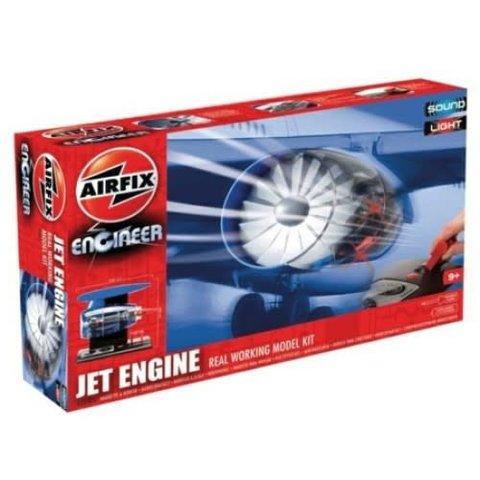 JET ENGINE CUTAWAY SOUND  + LIGHTS