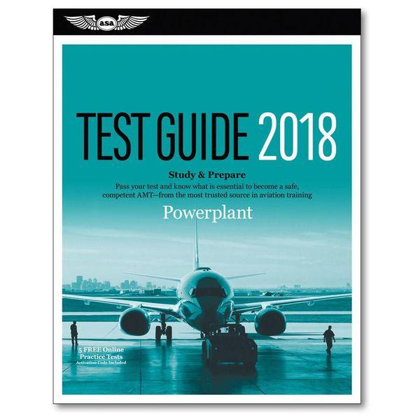 ASA - Aviation Supplies & Academics 2018 Powerplant Test Guide ASA softcover**o/p**