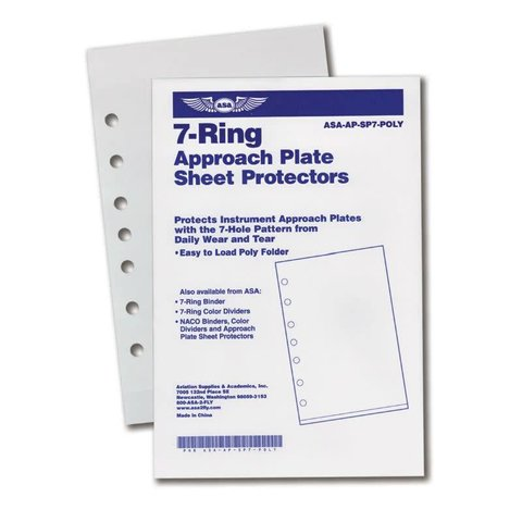 Approach Plate Protectors - Jeppesen (10)