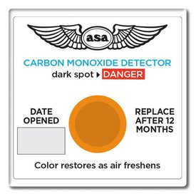 ASA - Aviation Supplies & Academics Carbon Monoxide CO Detector