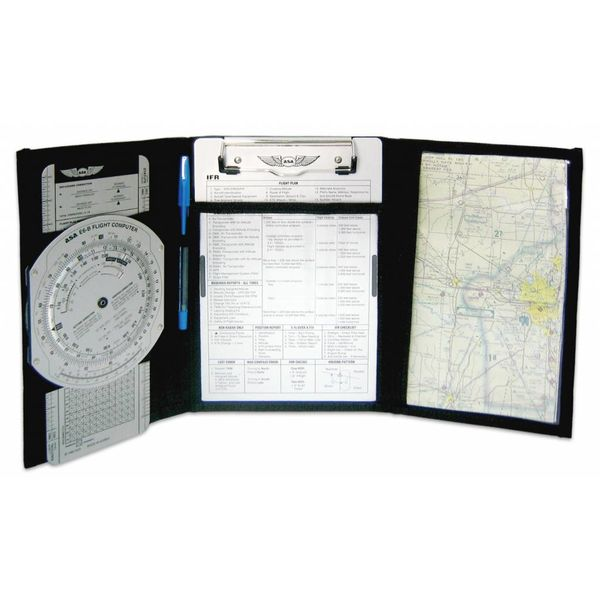 ASA - Aviation Supplies & Academics KB-3I Tri-Fold IFR Kneeboard