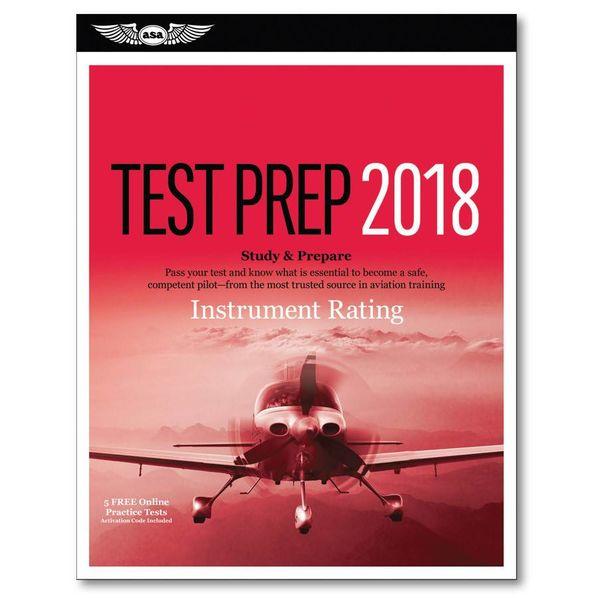ASA - Aviation Supplies & Academics Intrument Rating Test Prep 2019