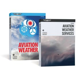 ASA - Aviation Supplies & Academics Aviation Weather Combo Pack softcover