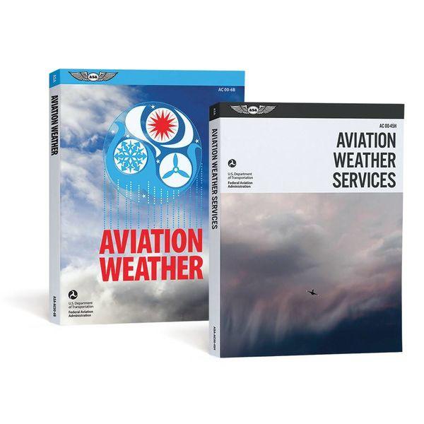 ASA - Aviation Supplies & Academics Aviation Weather Combo Pack