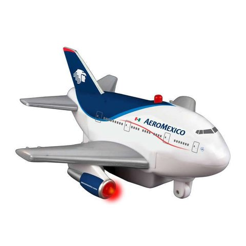 TOYTECH PULLBACK AEROMEXICO w/lights+sounds