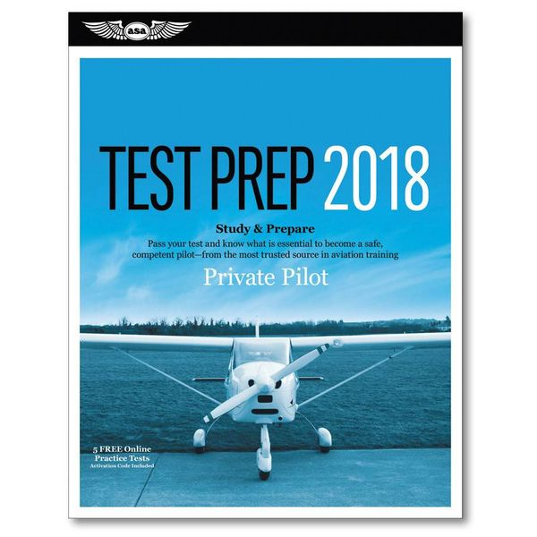 ASA - Aviation Supplies & Academics Private Pilot Test Prep 2018