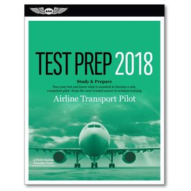 ASA - Aviation Supplies & Academics ATP Airline Transport Pilot Test Preparation FAA