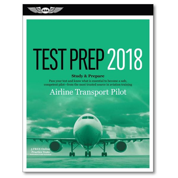 ASA - Aviation Supplies & Academics ATP Airline Transport Pilot Test Preparation