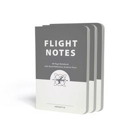 ASA - Aviation Supplies & Academics Flight Notes - 3 Pack 48 page notebook