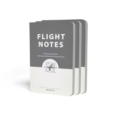 Flight Notes - 3 Pack 48 page notebook