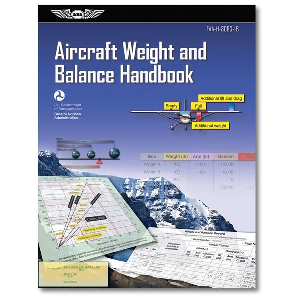 ASA - Aviation Supplies & Academics Aircraft Weight & Balance Handbook softcover