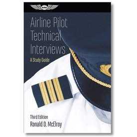 ASA - Aviation Supplies & Academics Airline Pilot Technical Interviews softcover