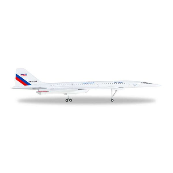 Herpa TU144L NASA Supersonic Flying Laboratory RA-77114 1:500