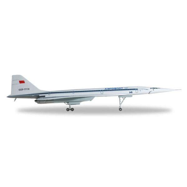 Herpa TU144S Aeroflot CCCP 77150 1200 With Gear