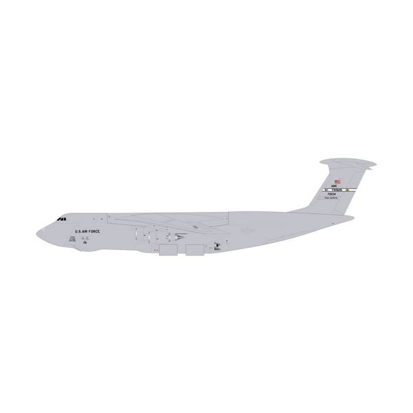 Gemini Jets C5M Galaxy USAF Travis AFB Grey 70034 1:400