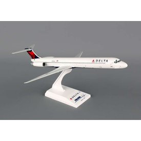 SkyMarks MD80 Delta 2007 livery 1:150 with stand