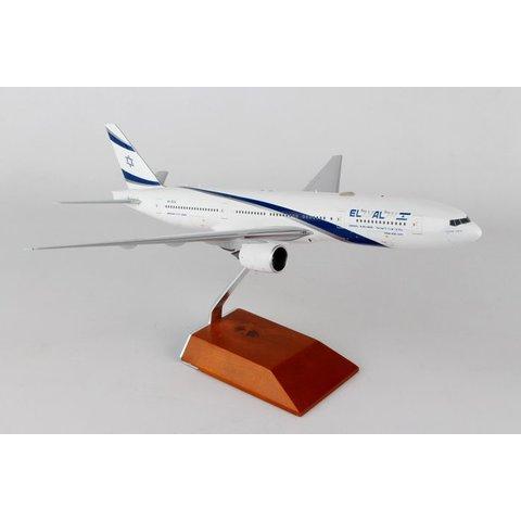B777-200ER El Al 4X-ECA 1:200 with stand