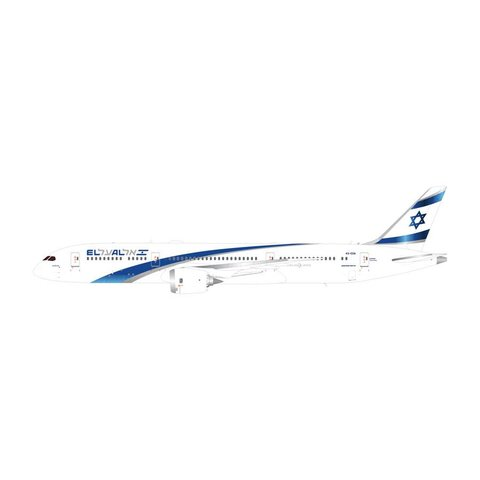 B787-9 Dreamliner ELAL New Livery 2017 4X-EDA 1:200