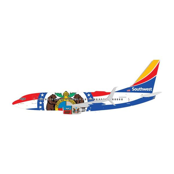 Gemini Jets B737-700S Southwest Missouri One N280WN Scimitars 1:200