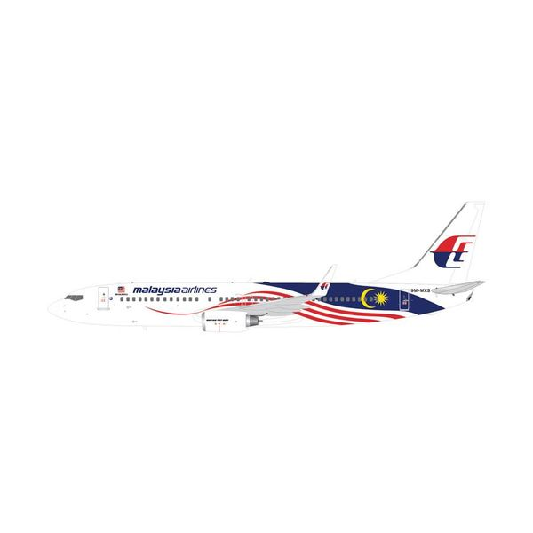 Gemini Jets B737-800W Malaysia New Livery Negaraku 9M-MXS 1:400
