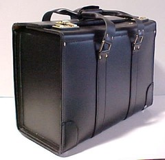 Leather flight cases