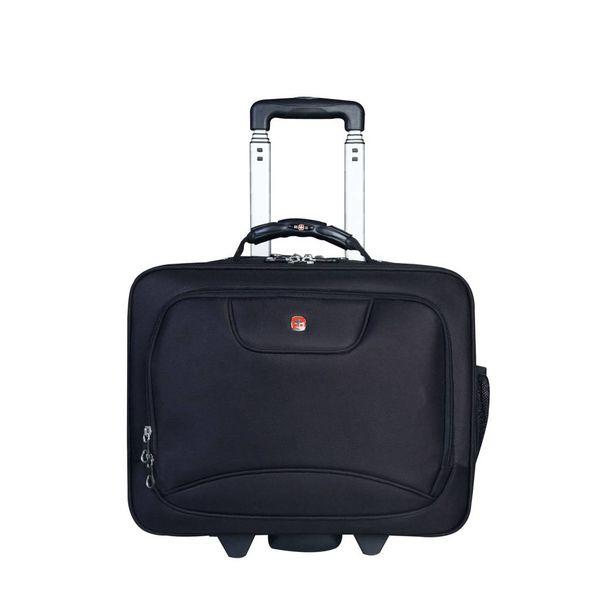 Swissgear Rolling Flight Bag Black