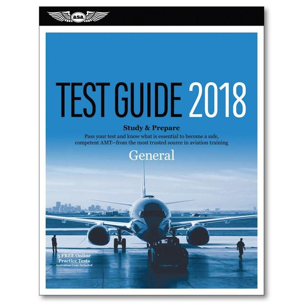 ASA - Aviation Supplies & Academics 2018 Test Guide General softcover**o/p**