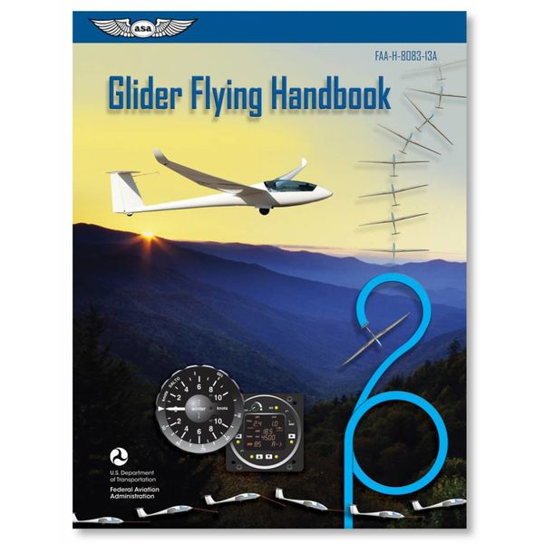 ASA - Aviation Supplies & Academics Glider Flying Handbook FAA softcover