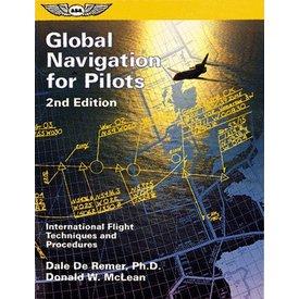 ASA - Aviation Supplies & Academics Global Navigation For Pilots 2nd Edition