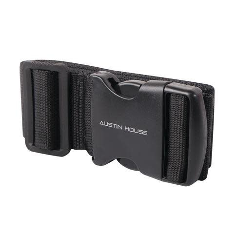 "Luggage Strap 2""x76'' Black"