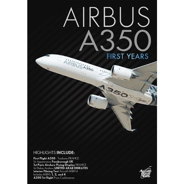 Air Utopia DVD Airbus A350: First Years #120