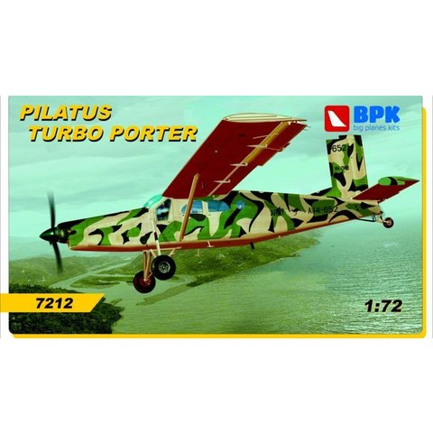 PILATUS PC6 TURBO PORTER RAAF,AUSTRIAN 1:72 SCALE KIT