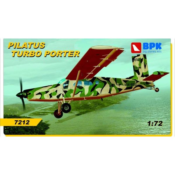 Big Planes Kits (BPK) PILATUS PC6 TURBO PORTER RAAF,AUSTRIAN 1:72