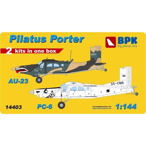 Big Planes Kits (BPK) PORTER PILATUS AU23 PC6 1:144