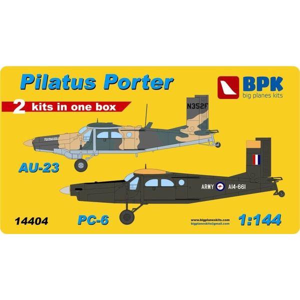 Big Planes Kits (BPK) PORTER PILATUS AU23 PC6 RAA 1:144