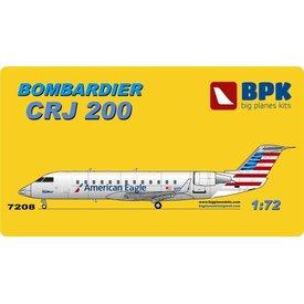 Big Planes Kits (BPK) CRJ200 AMERICAN NC13, JAZZ OC 1:72