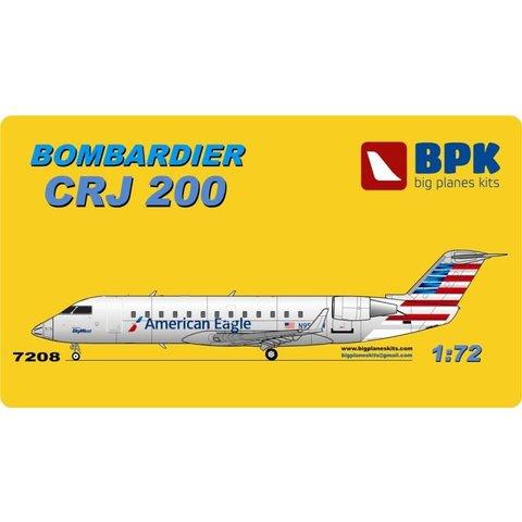 CRJ200 AMERICAN NC13, JAZZ OC 1:72