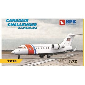 Big Planes Kits (BPK) CL604 CHALLENGER C143A USCG 1:72 SCALE KIT
