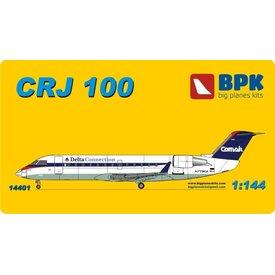 Big Planes Kits (BPK) CRJ100 BOMBARDIER DELTA COM AFR 1:144